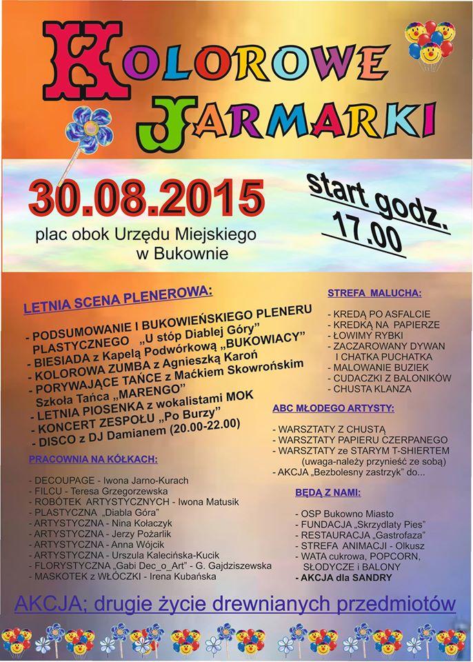 Więcej o: Bukowno – Kolorowe Jarmarki