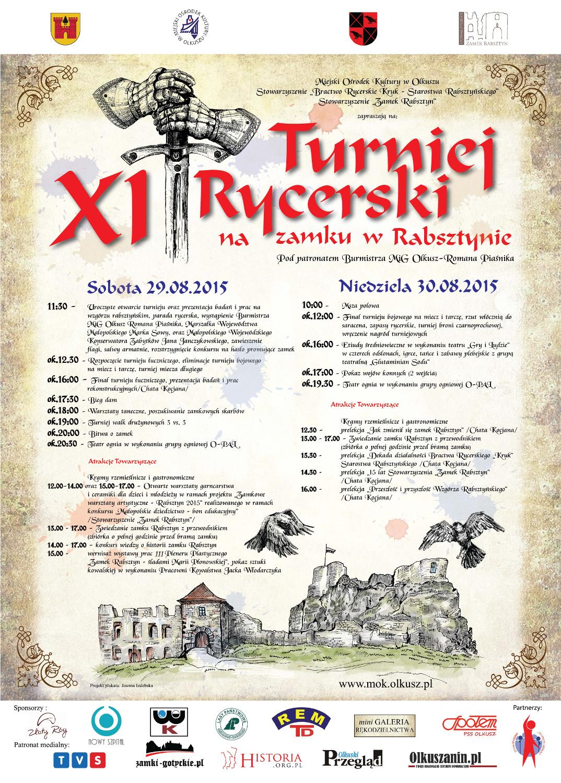 Więcej o Rabsztyn – XI Turniej Rycerski