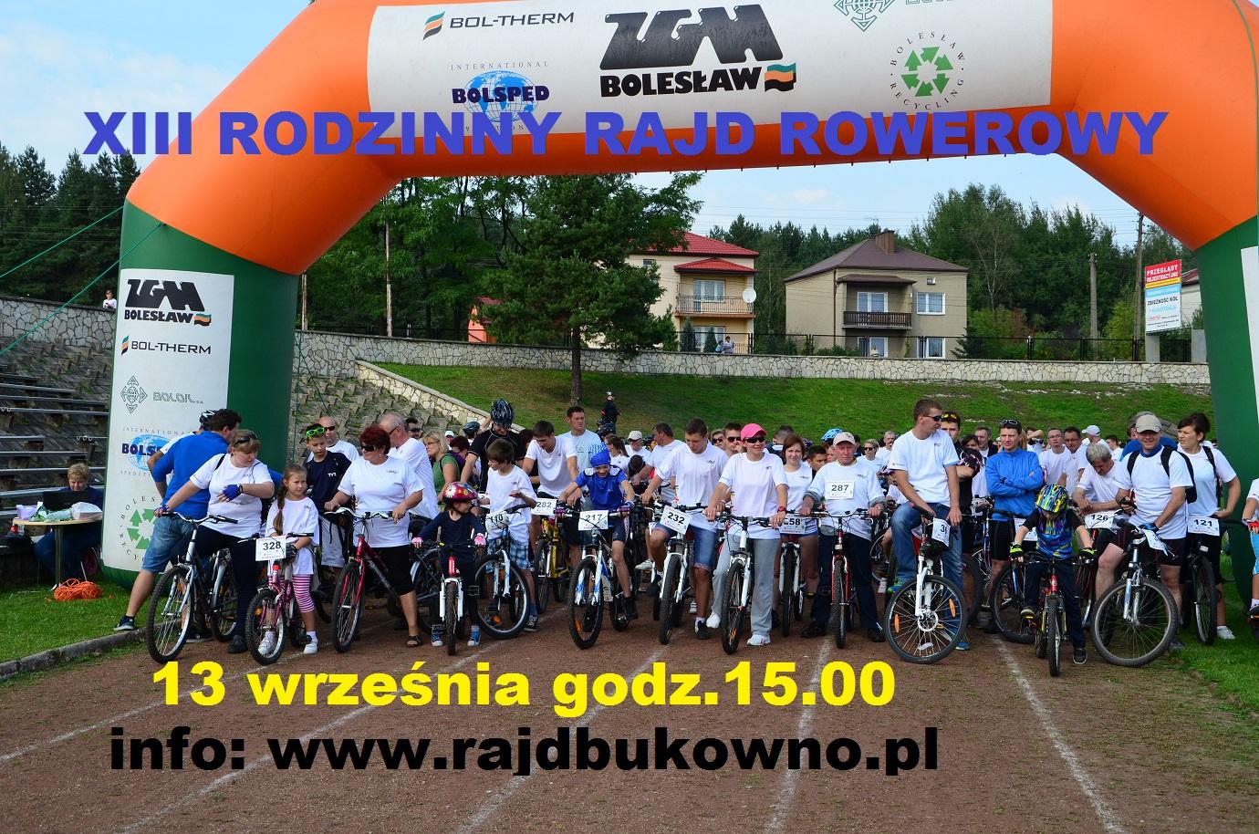 Więcej o: Bukowno – XIII Rajd Rowerowy