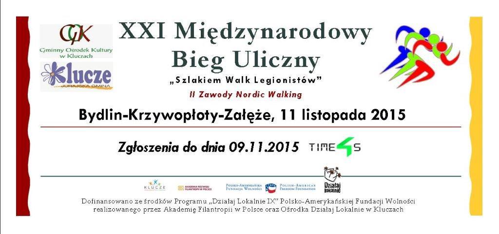 """Bieg Uliczny """"Szlakiem Walk Legionistów"""""""