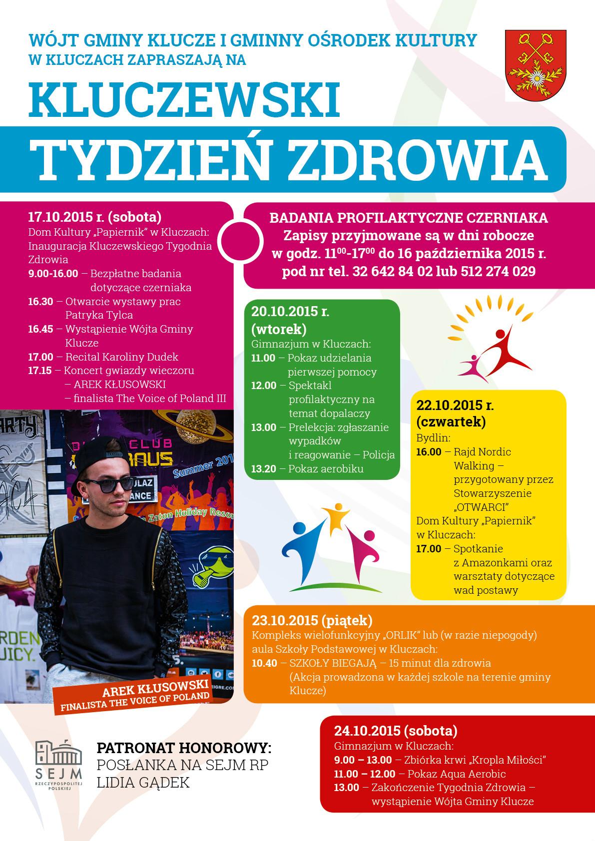 Więcej o: Kluczewski Tydzień Zdrowia