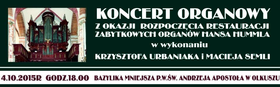 Więcej o: Koncert organowy w Olkuszu