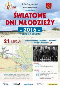Światowe Dni Młodzieży w Gminie Klucze! Koncert na Pustyni Błędowskiej!