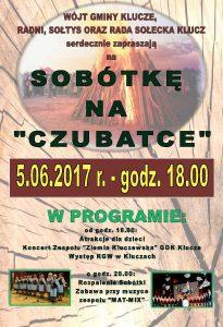 Sobótki w Kluczach na Czubatce 2017.