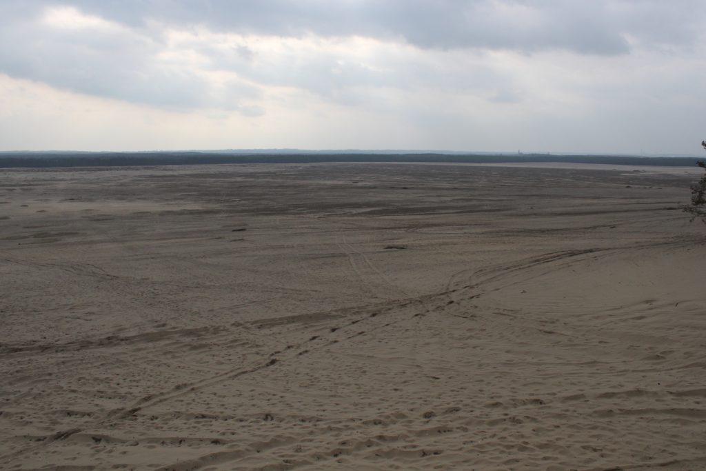 """Pustynia Błędowska - teraz widokowy w Chechle - """"Dąbrówka"""""""