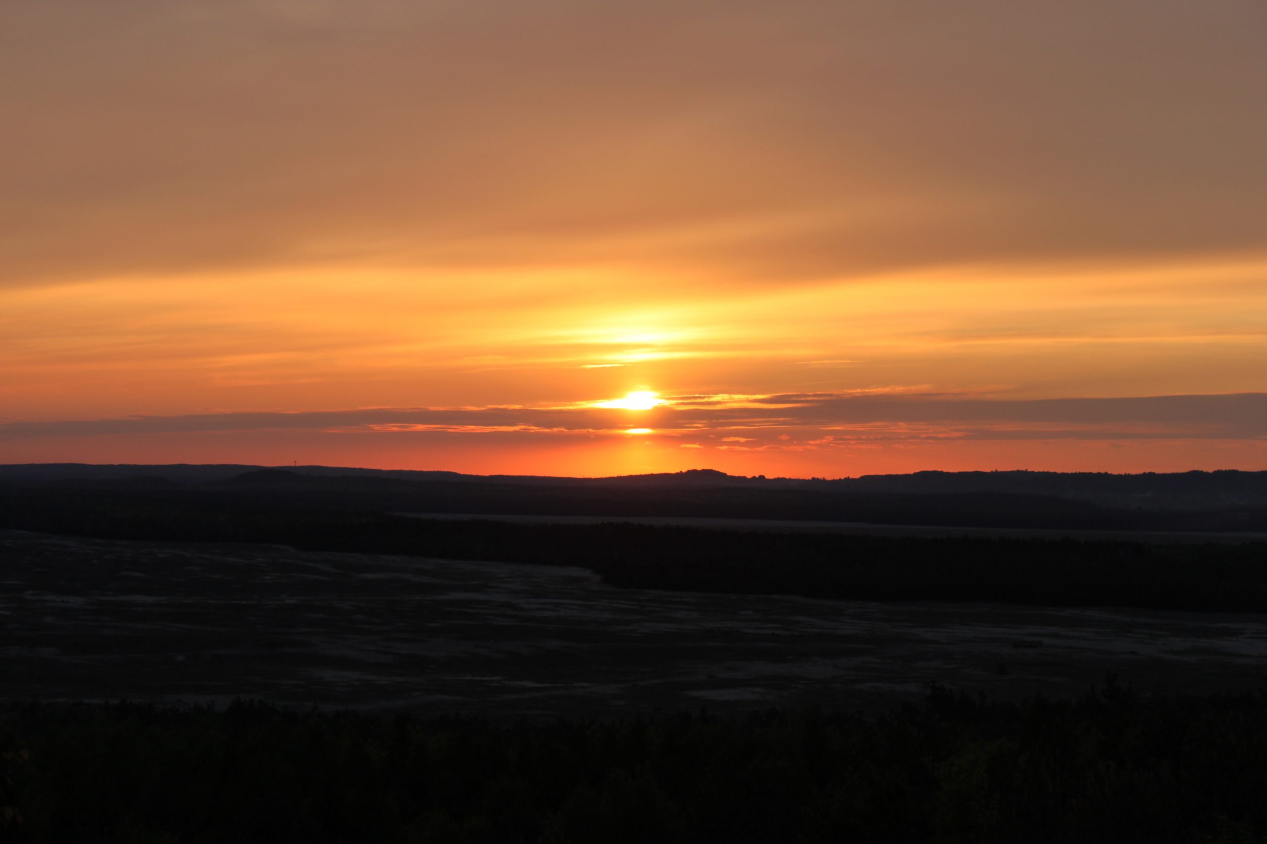 Taki tam sobie zachód słońca…