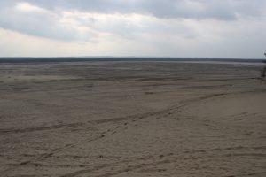 Widok na pustynie z Chechła