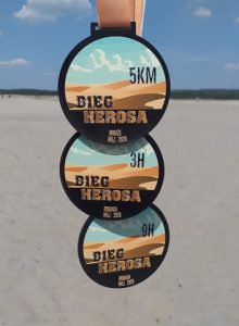 medale z biegania