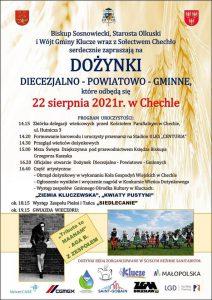Dożynki diecezjalno-powiatowo-gminne Chechło 2021