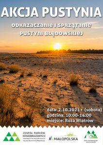 Akacja pustynia Błędowska 2021